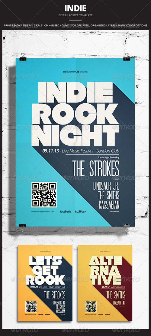 GraphicRiver Indie Flyer / Poster 12