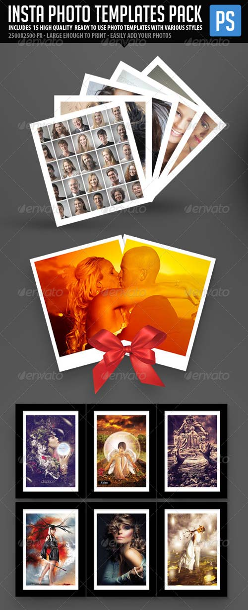 GraphicRiver Insta Photo Templates Pack (23in1)