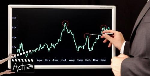 Businessman Analyzing Graphs - After Effects Stock Footage (Videohive)