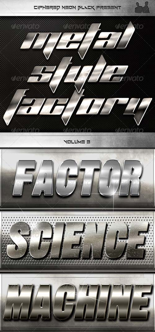 GraphicRiver Metal Style Factory - Volume 03