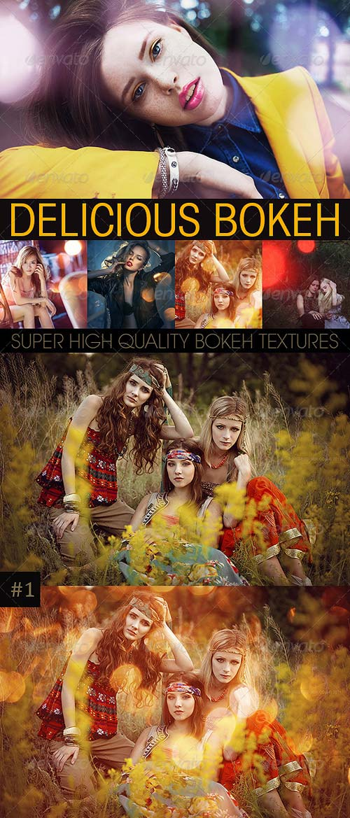 GraphicRiver Bokeh Textures and Actions Vol.3