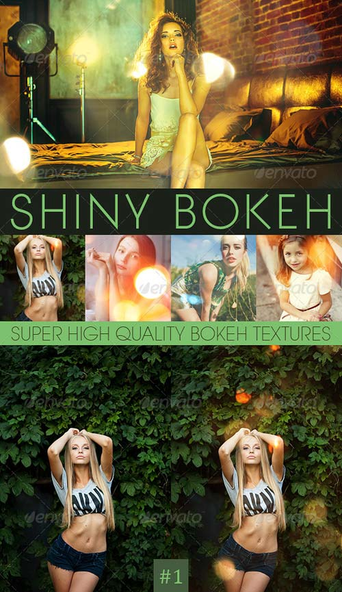 GraphicRiver Bokeh Textures and Actions Vol.2