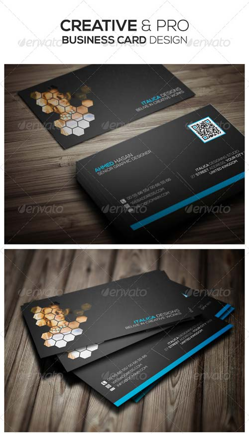 GraphicRiver Creative & Pro Business Card Design
