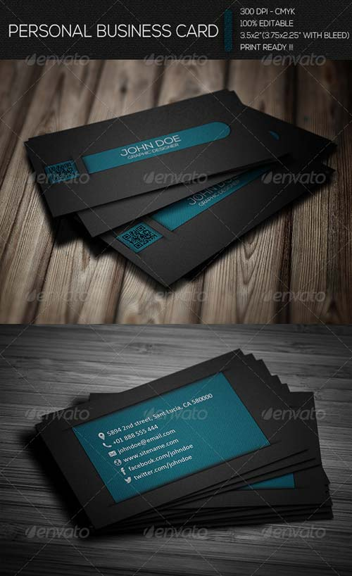 GraphicRiver Creative Personal Business Card