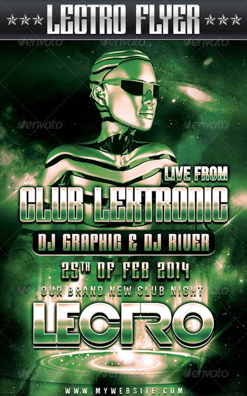 GraphicRiver Lectro Flyer