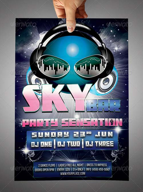 GraphicRiver Sky Bar