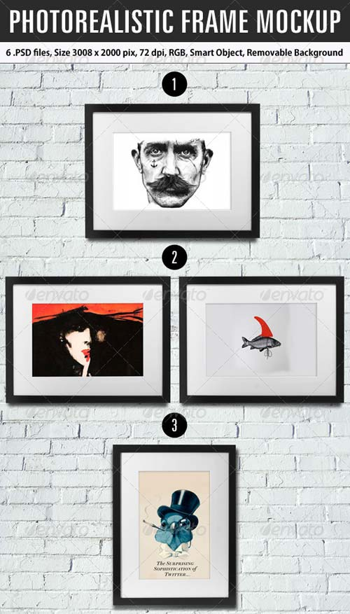 GraphicRiver Photorealistic Frame Mockup