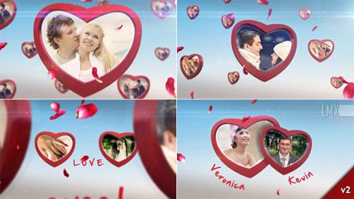 Heart Frame Gallery - After Effects Project (Videohive)