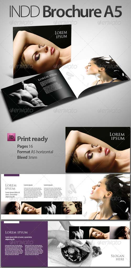 GraphicRiver INDD Brochure - Booklet A5