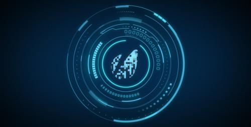 Hi-Tech Logo Reveal 02 - After Effects Project (Videohive)