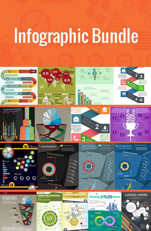 Massive Infographic Bundle (100plus templates)