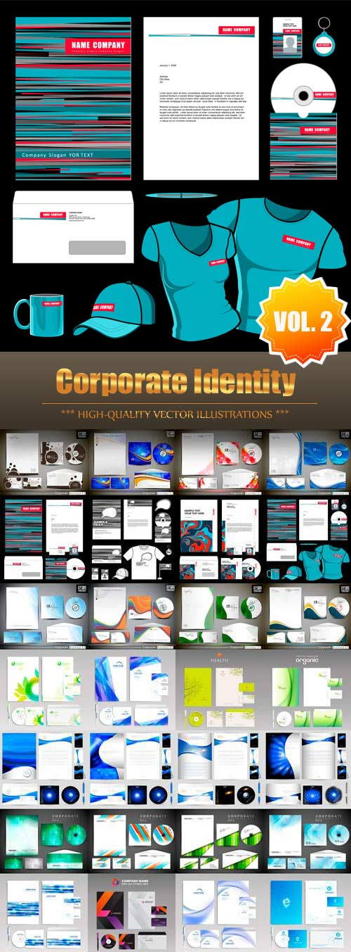 Corporate Identity Vector Collection (Vol.2)