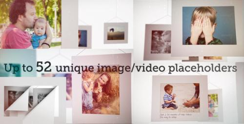Actual 52 Unique Photo Gallery with Camera Bokeh - After Effects Project (Videohive)