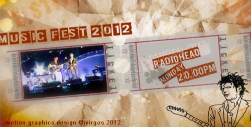 Music Festival Promo Billboard - After Effects Project (Videohive)