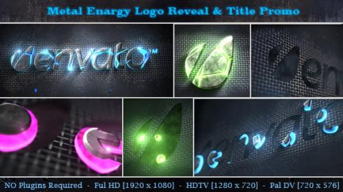 Metal Energy Logo Reveal & Title Promo - After Effects Project (Videohive)