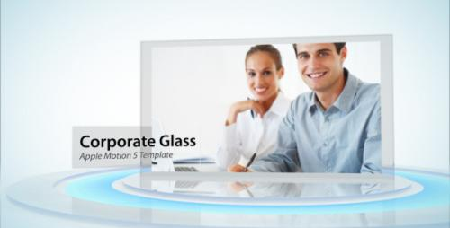 Corporate Glass Display - Apple Motion Template (Videohive)