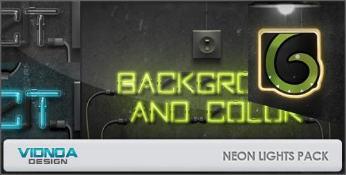 Neon Lights Pack - After Effects Project (Videohive)