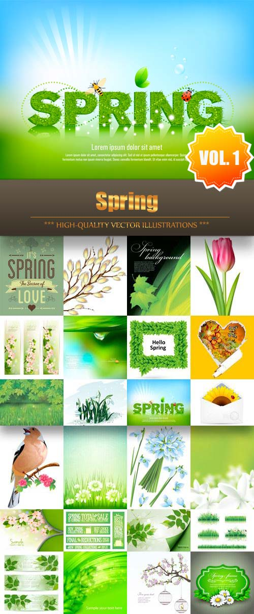 Spring Vector Collection (Vol.1)