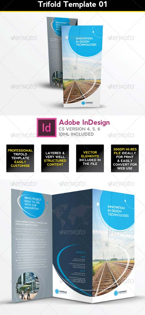 Graphicriver trifold brochure template 01 indesign layout for Trifold brochure template indesign