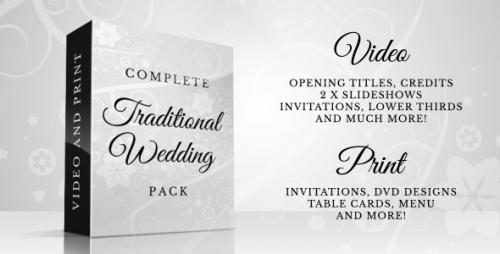 Complete Traditional Wedding Pack - After Effects Project (Videohive)
