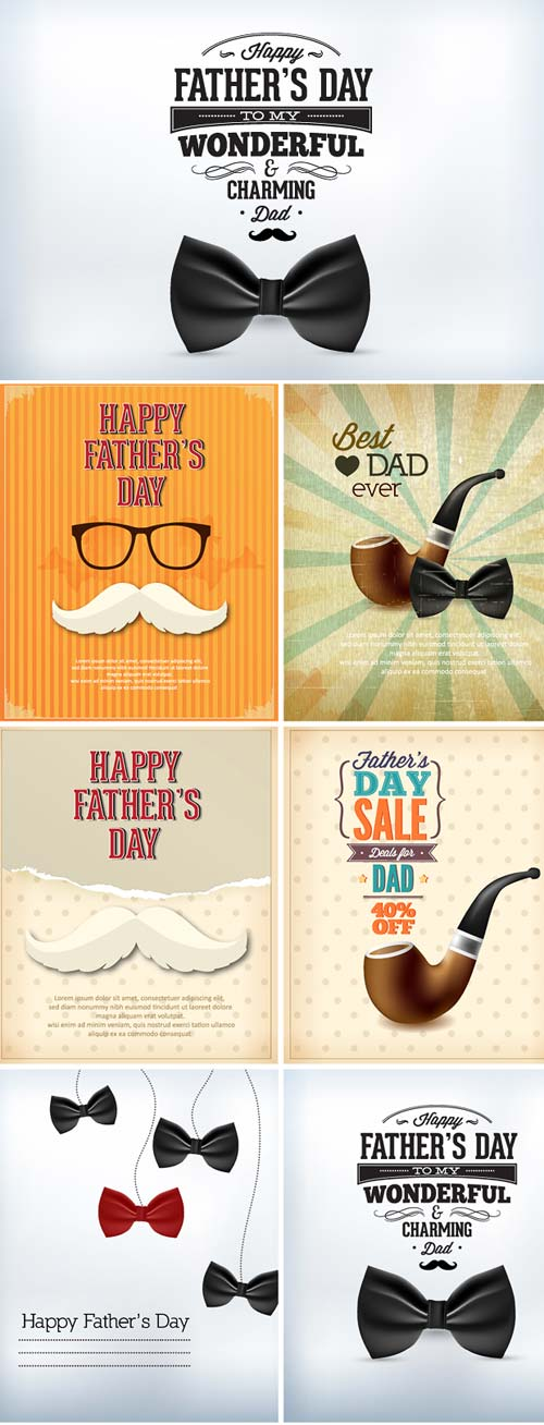 InkyDeals - 30 Father's Day Vector Illustrations
