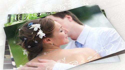Wedding Photo Gallery with Ornament - After Effects Project (Videohive)