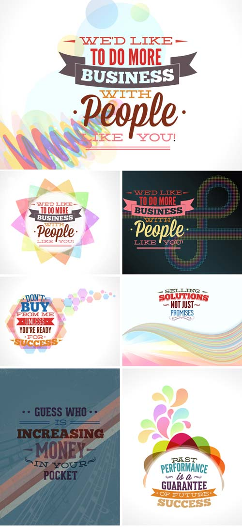 InkyDeals - 30 Sales Slogans Vector Illustrations