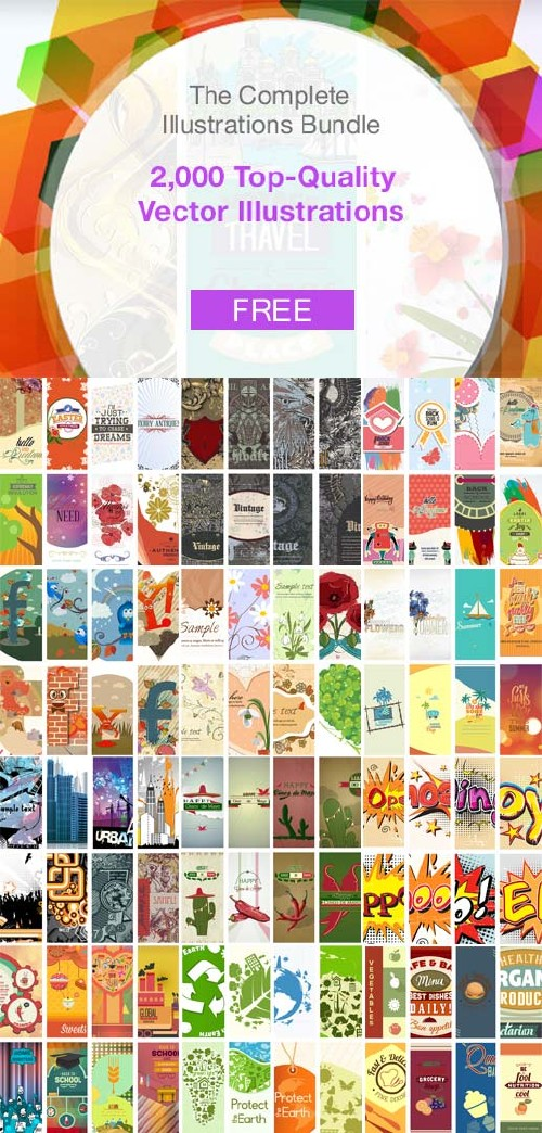 InkyDeals - 2,000+ Top-Quality Vector Illustrations