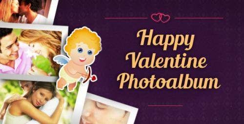Happy Valentine Photoalbum - After Effects Project (Videohive)