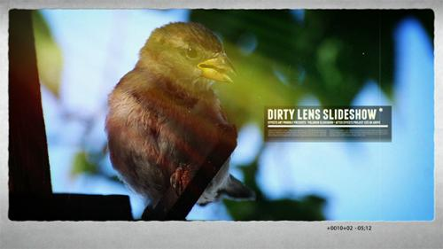 Dirty Lens Slideshow - After Effects Project (Videohive)