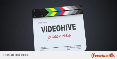 Filmslate Logo Opener - After Effects Project (Videohive)