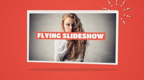 Flying Slideshow - After Effects Project (Videohive)