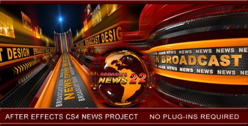 Broadcast Design News Opener - After Effects Project (Videohive)