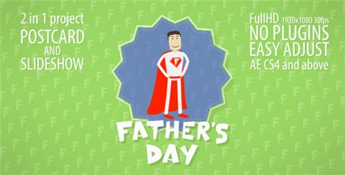 Father's Day Slideshow - After Effects Project (Videohive)
