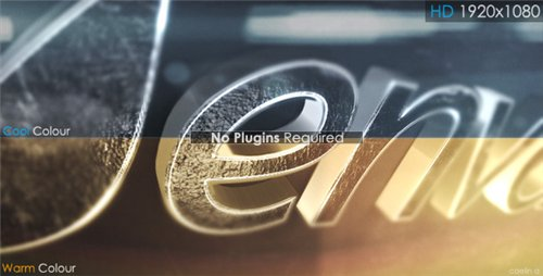 3D Metallic Reveal - After Effects Project (Videohive)