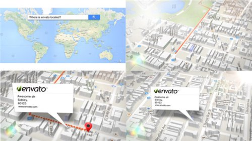 3d Map Generator - After Effects Project (Videohive)