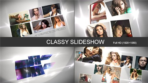 Classy Slideshow - After Effects Project (Videohive)