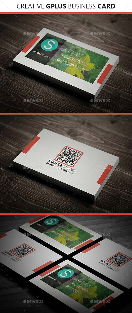 GraphicRiver Creative GPlus Business Card