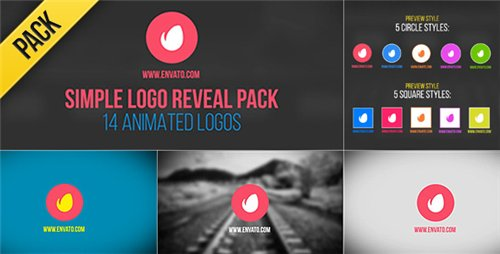 Simple Logo Reveal Pack - After Effects Project (Videohive)