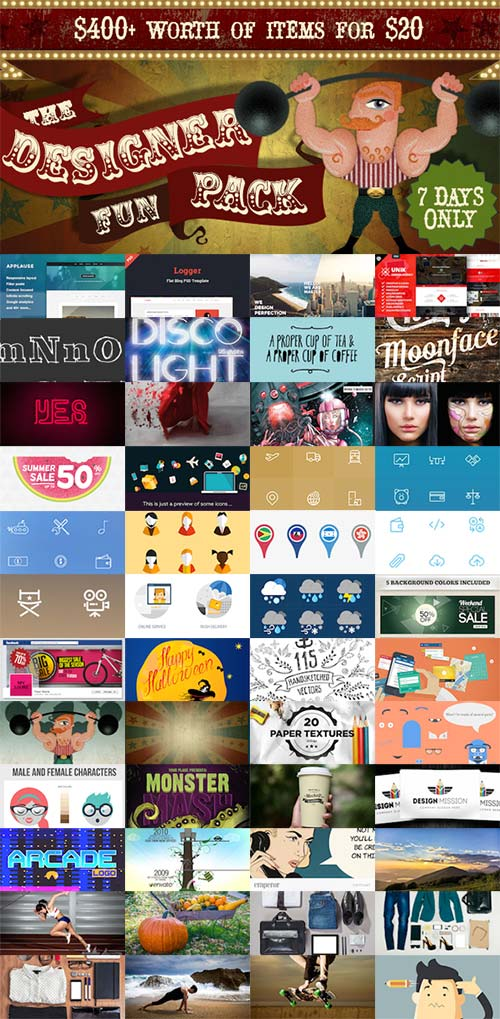 Envato The Designer Fun Pack