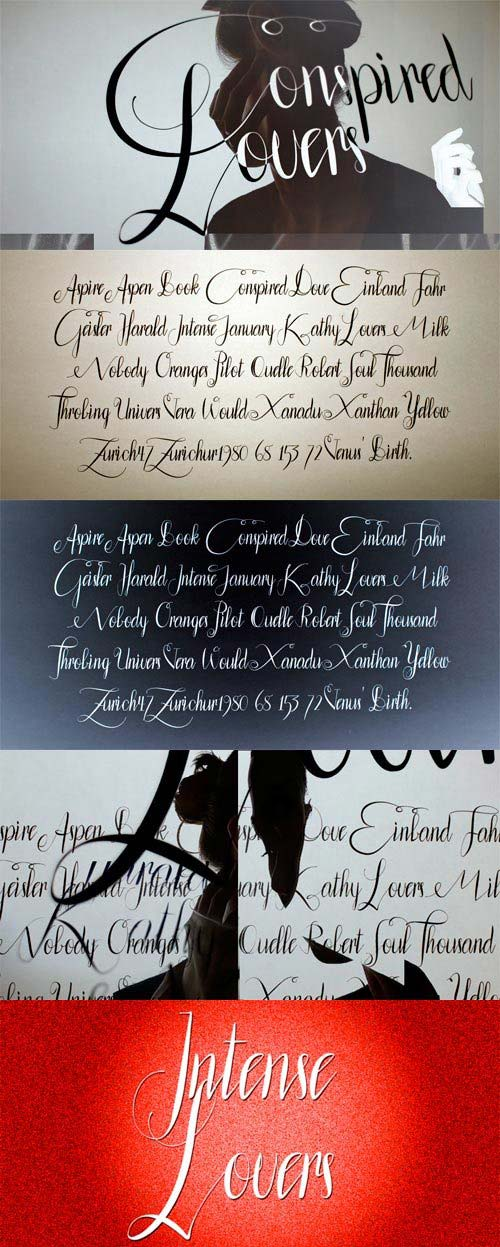 Conspired Lovers Font