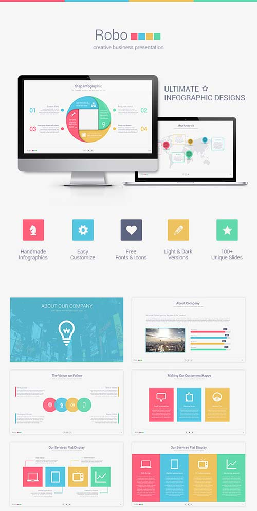 GraphicRiver Robo Keynote Presentation Template