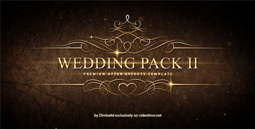 Wedding Pack II - After Effects Project (Videohive)