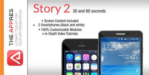Mobile App Promo - Story 2 - The Appres - After Effects Project (Videohive)