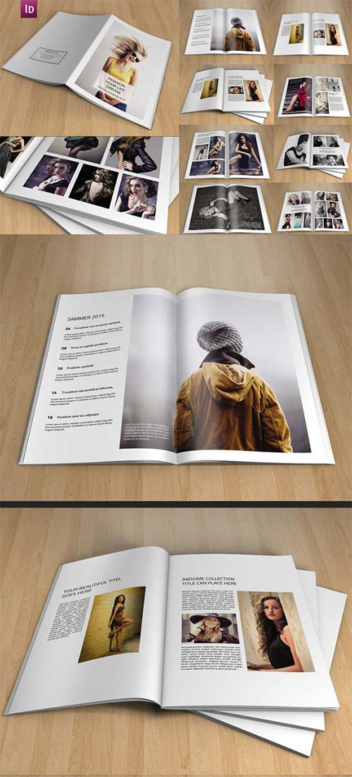CreativeMarket InDesign Photography Brochure