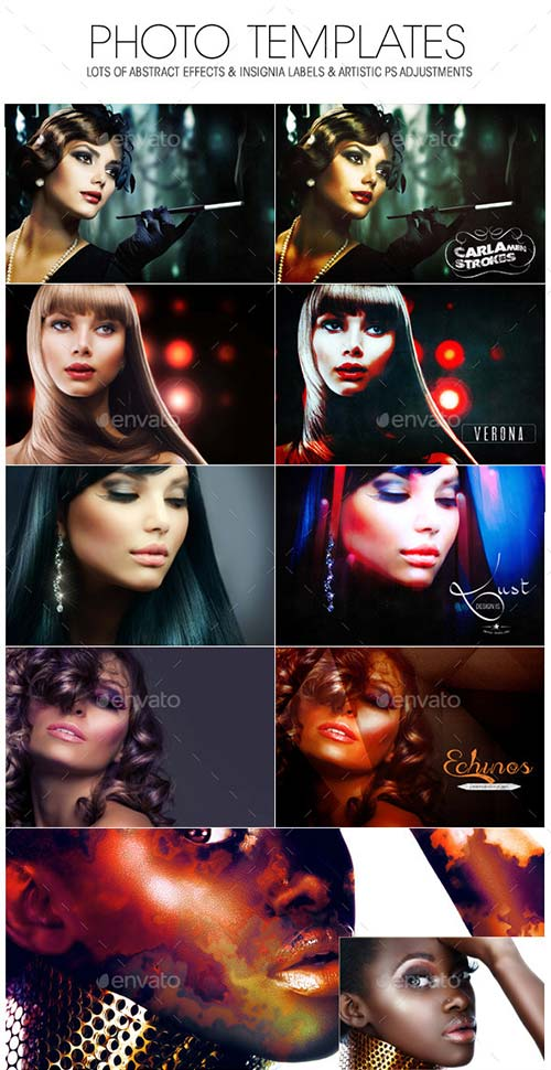GraphicRiver A Great Bundle! Creative Photo Templates 5in1