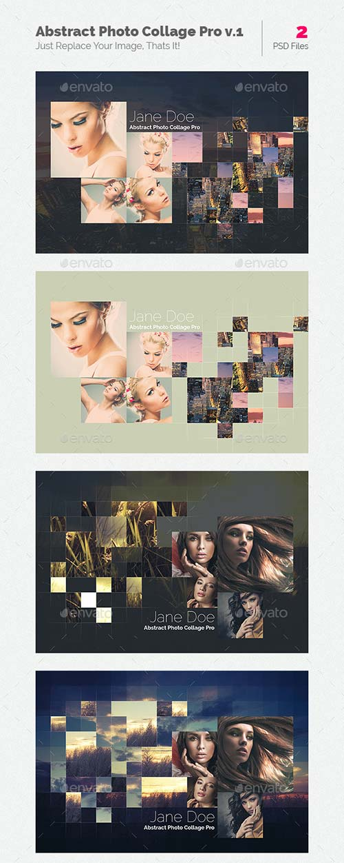 GraphicRiver Abstract Photo Collage Pro v.1