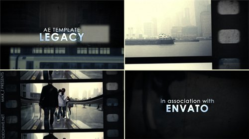 Legacy Film Tape Slideshow - After Effects Project (Videohive)