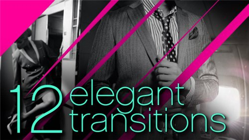 12 Elegant Transitions - After Effects Project (Videohive)