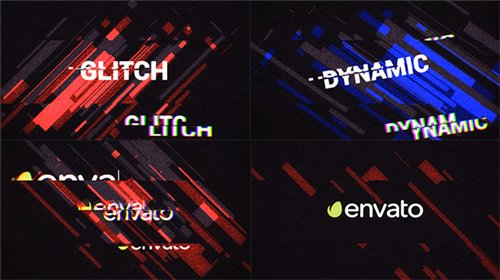 Glitch Logo Opener - After Effects Project (Videohive)